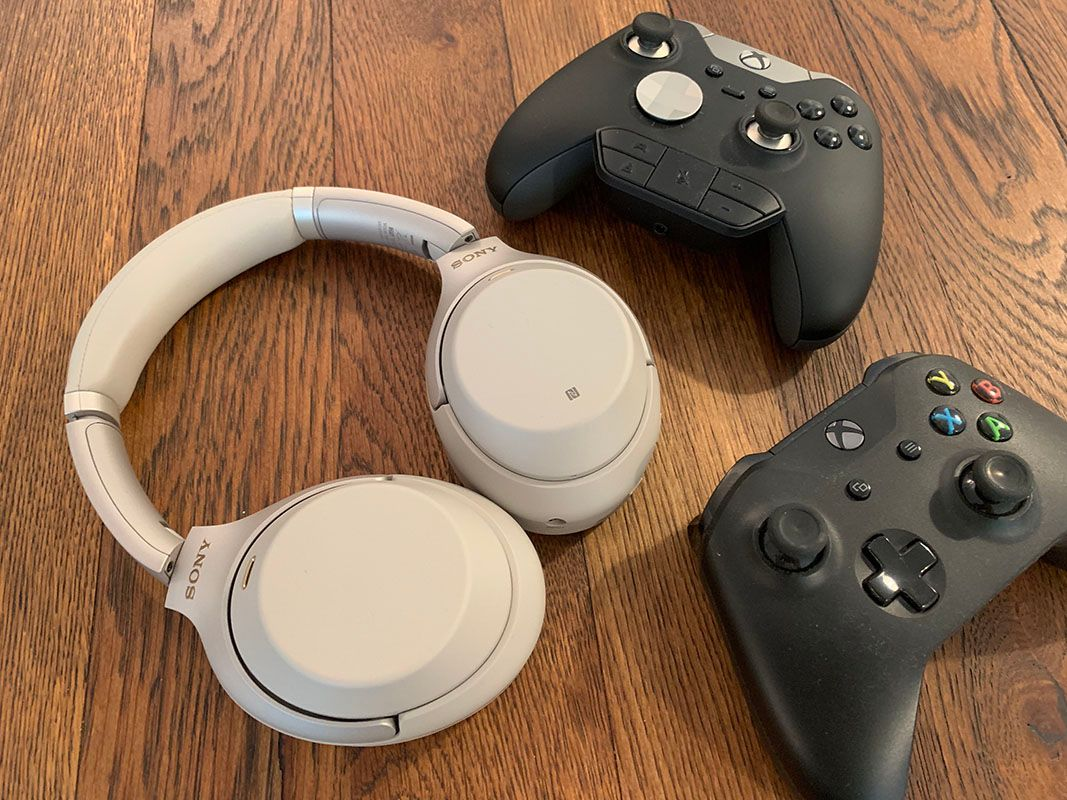Use the Sony WH-1000XM3 with your Xbox One for Game Sound and Voice Chat