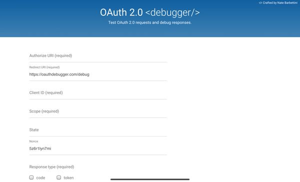 Useful Developer Tools #14: OAuth 2.0 Debugger and Open ID Connect Debugger